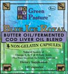 BLUE ICE™ Butter Oil / Fermented Cod Liver Oil Blend Capsules